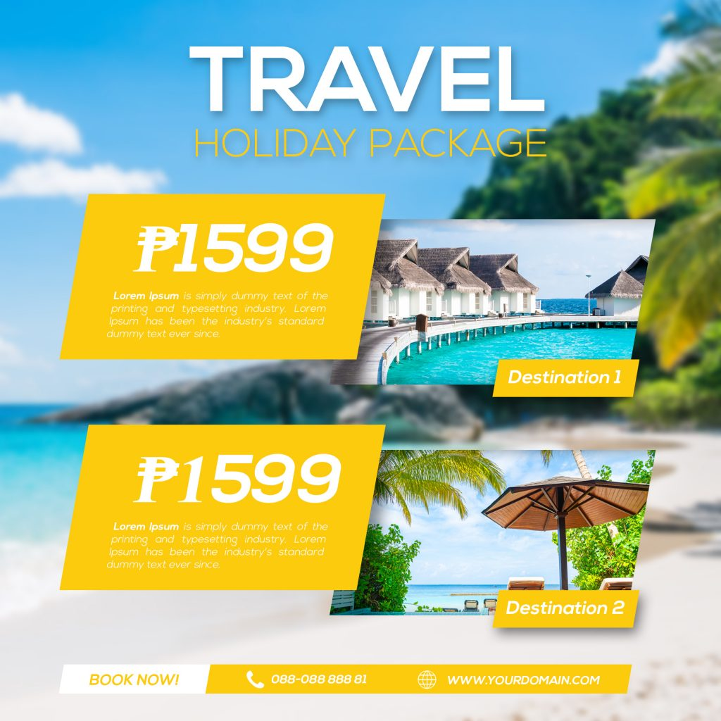 Travel Holiday Package Graphics